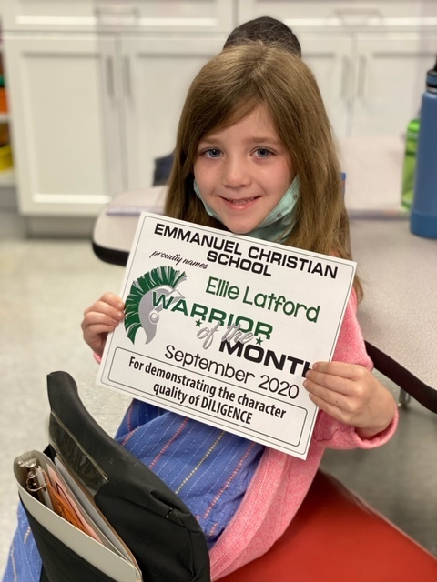 Elementary Students of the Month
