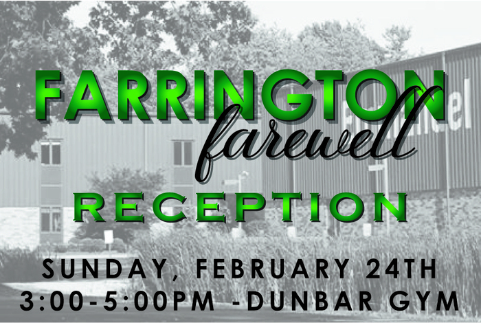 Farrington Reception