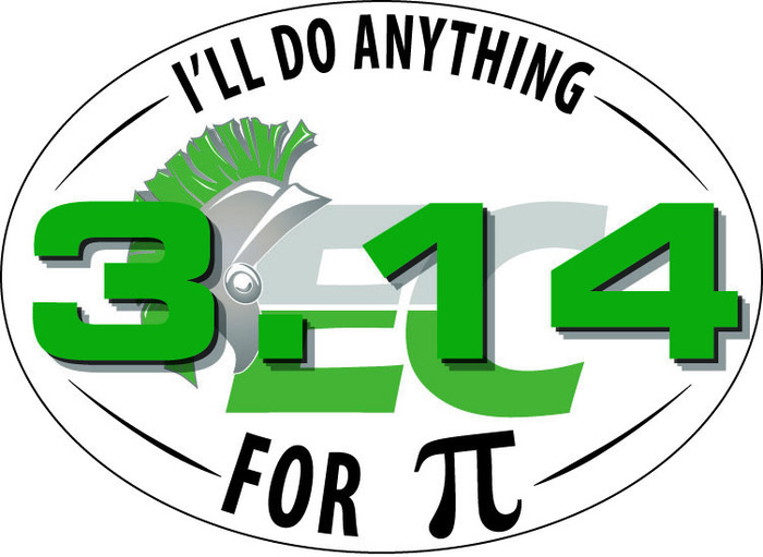 Pi sticker