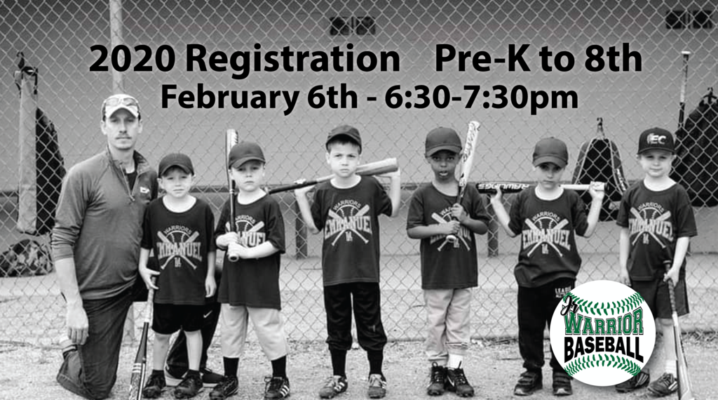Jr Warrior Spring Registration
