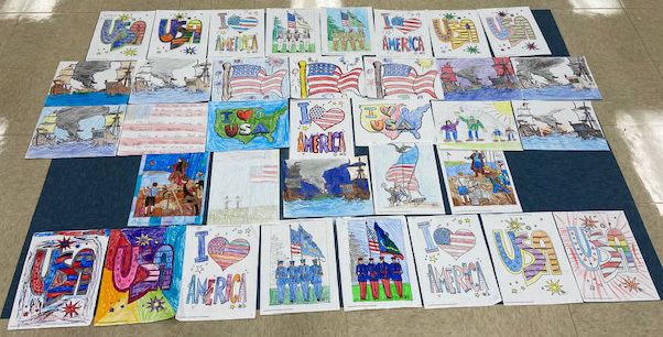 Patriotic Coloring Contest