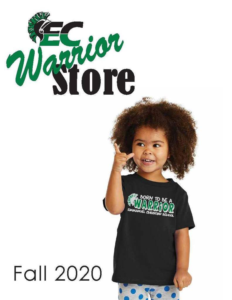 Fall 2020 WARRIOR Store catalog